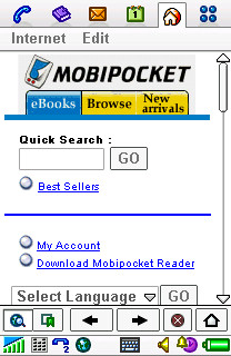 Mobipocket online store